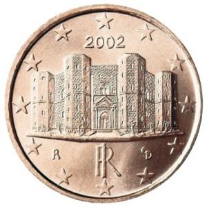 1 centesimo 2002 Italia