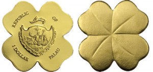 1 dollaro 2007 in oro, Palau