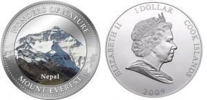 1 dollaro 2009 in lega di rame e nichel (27 g), isole Cook