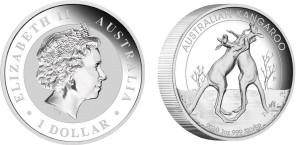 1 dollaro 2010 in argento (31,135 g, 32,6 mm, spessore 6,0 mm) Australia