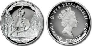 1 dollaro 2010 in argento, Tuvalu