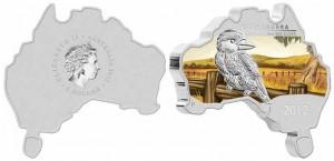 1 dollaro 2012 in argento (kookaburra), Australia