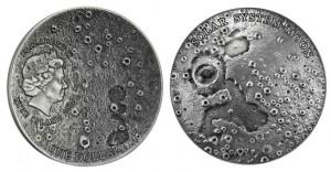 1 dollaro 2015 in argento (31,1 g) Niue, la Luna