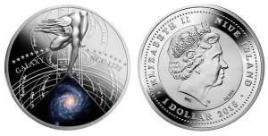1 dollaro 2015 in argento Niue, Galassia NGC 1232