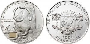 1.000 franchi 2010 Cote d'Ivoire