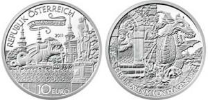 10 euro 2011 Austria