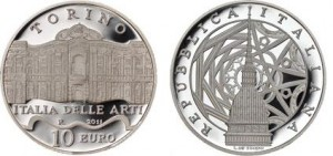 10 euro, Italia delle Arti Torino