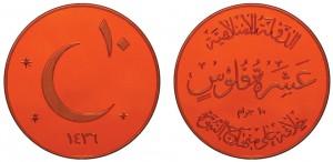 10-fels in rame Califfato Islamico