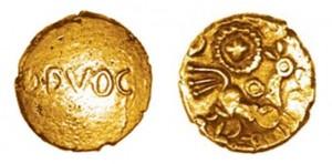 Quarto di statere d'oro di Bodvoc