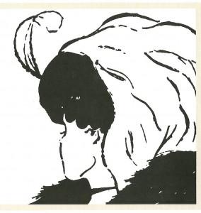 Illusione della giovane donna anziana
