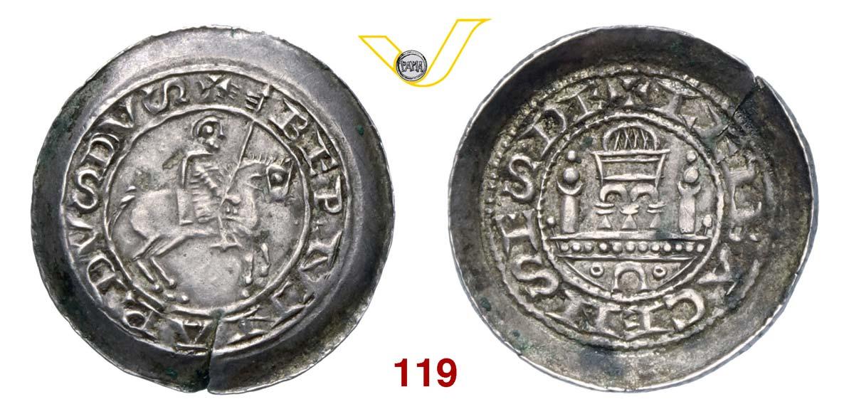 SLOVENIA - Lubjana BERNARDO DI CARINZIA (1202-1256) Pfenning