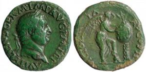 154 ROME_VITELLIUS_SESTERCE