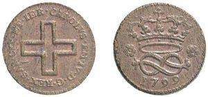 2 denari 1799