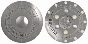 2 dollari 2017 in argento, Niue