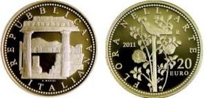20 euro oro, serie Flora nell'Arte