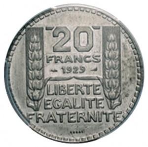 20 francs 1929