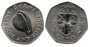 200 cedis 1998 Ghana