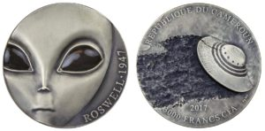 3.000 franchi 2017 in argento, Camerun