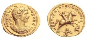 Aureo coniato ad Antiochia nel 273