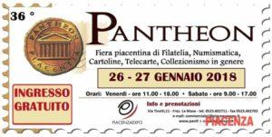 "Piacenza Expo, 36° edizione di ""Pantheon"" ""Pantheon""  Potrebbe interessarti: http://www.ilpiacenza.it/eventi/pantheon-fiera-numismatica-filatelia-piacenza-expo-26-27-gennaio-2018.html Seguici su Facebook: http://www.facebook.com/ilPiacenza.it"