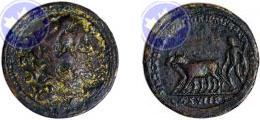 Commmodus con Ercole nel retro
