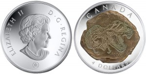 4 dollari 2009 in argento (Tyrannosaurus), Canada