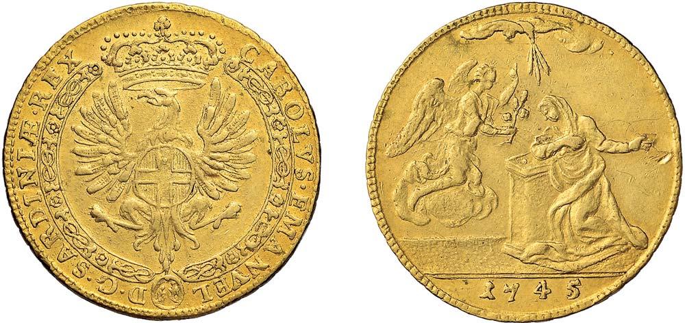4 Zecchini Carlo Emanuele III