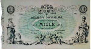 4. 1000 lire consorziale fronte