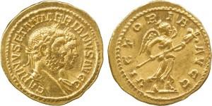 Lotto 48 - Aureo di Carino e Numeriano
