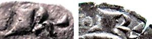 particolari di denari siciliani