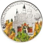 5 dollari 2010 Palau,  castello di neuschwanstein