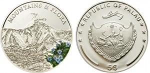 5 dollari 2010 in argento (25 g), Palau