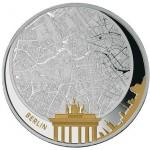 5 dollari 2011 in argento (Berlino), isole Figi