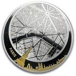 5 dollari 2011 in argento (Parigi), isole Figi