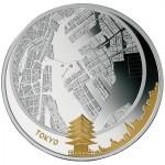 5 dollari 2011 in argento (Tokyo), isole Figi