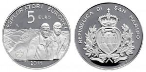 5 euro 2011 in argento (18 g), San Marino