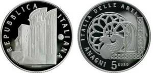 5 euro, Italia delle Arti Anagni.