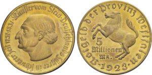 5 milioni di marchi 1923