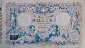 5. 1000 lire banca nazionale