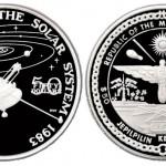 50 dollari 1989 in argento (31,1 g) isole Marshall, prima sonda oltre il sistema solare