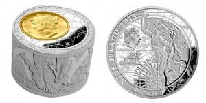 50 dollari 2013 in argento (186,6 g, 32 mm, spessore 22,1 mm) Niue
