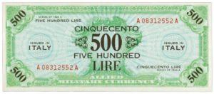 500 AM Lire
