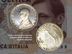 500 lire Marconi ghiera sbagliata