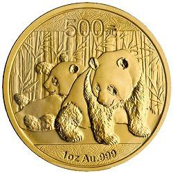 500 yuan 2010 in oro, 1 oncia