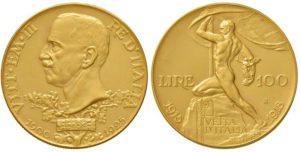 Vittorio Emanuele III (1900-1943) - 100 Lire 1925 Vetta d'Italia