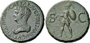 Claudio, sesterzio