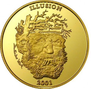 12000 shillings 2001 Uganda - Illusion Spirit of the Mountain