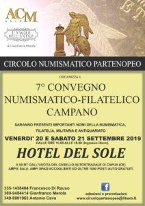 7° Convegno Numismatico-Filatelico Campano del 20 e 21 settembre