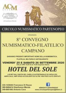VIII Convegno Numismatico Filatelico Campano locandina
