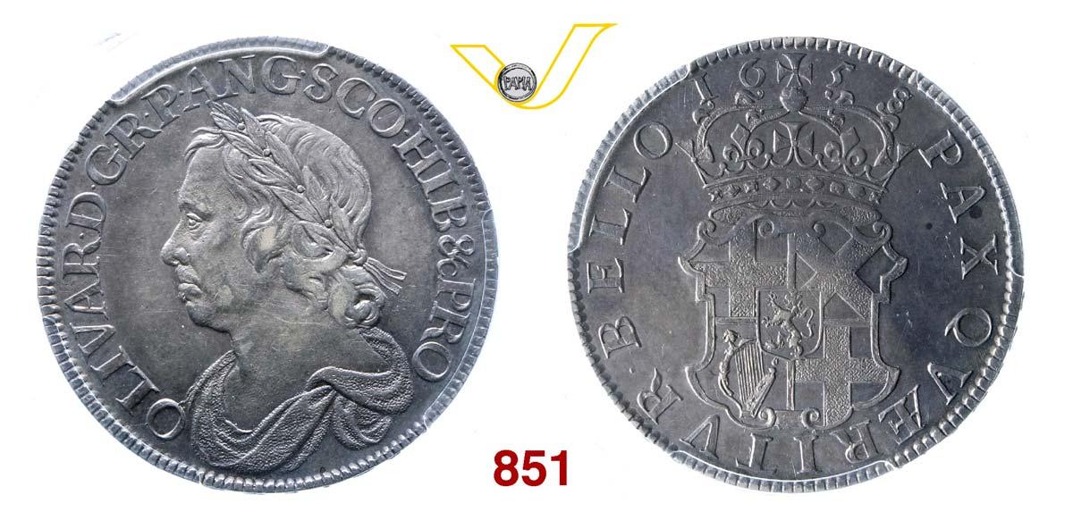 "GRAN BRETAGNA Corona 1658/7 ""Cromwell"""